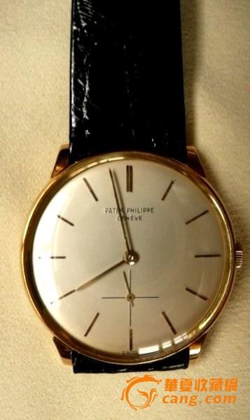 Patek Philippe 百德菲丽 18K金小三针腕錶图1