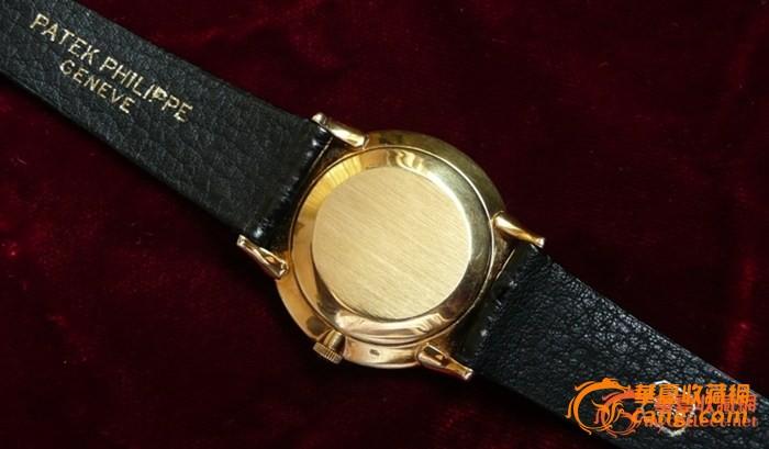 Patek Philippe 百德菲丽 18K金小三针腕錶图4