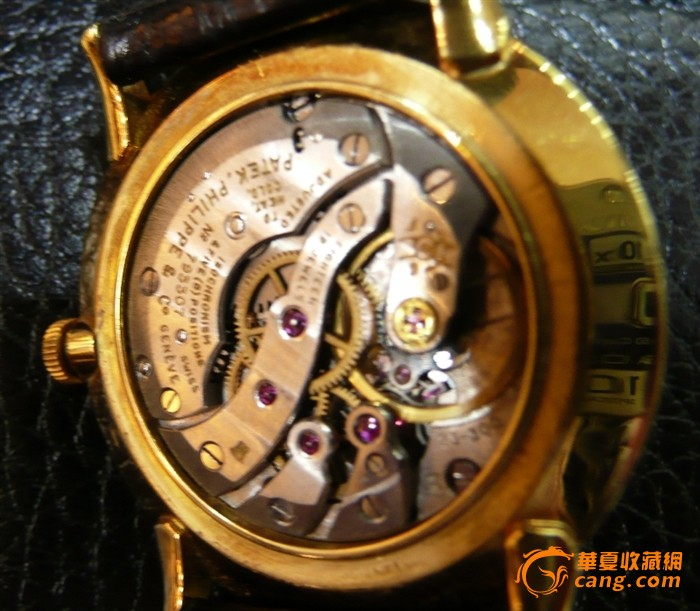 Patek Philippe 百德菲丽 18K金小三针腕錶图5