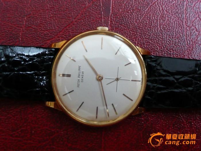 Patek Philippe 百德菲丽 18K金小三针腕錶图7