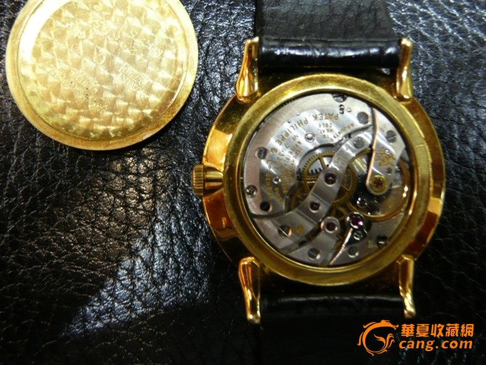 Patek Philippe 百德菲丽 18K金小三针腕錶图8