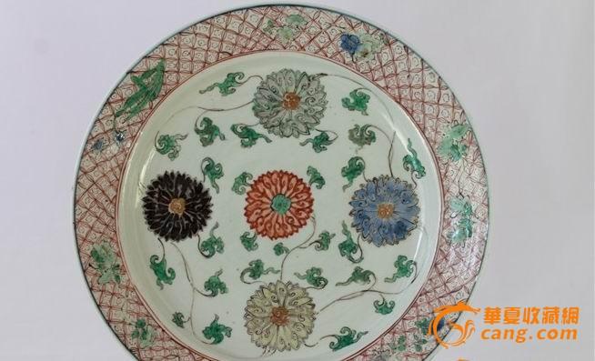 旧陶瓷花纹贴图