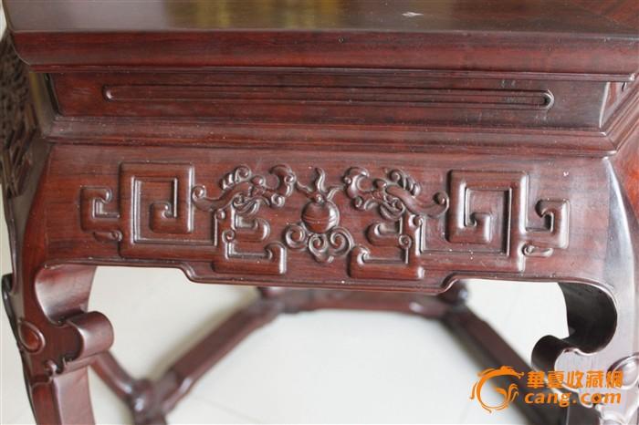 红木桌子一套