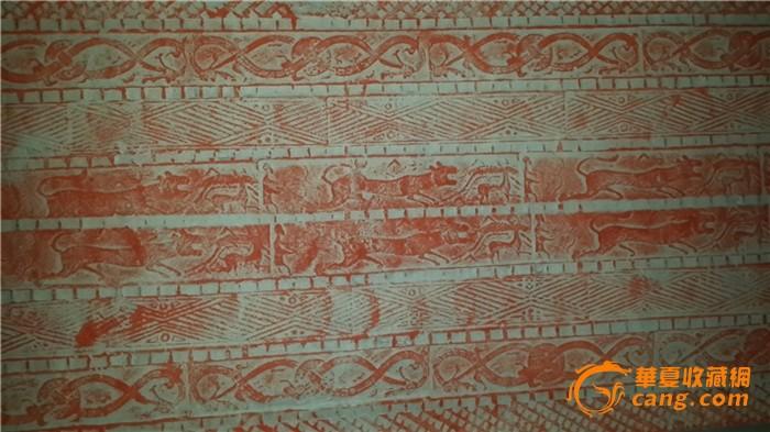 汉代跑兽,龙纹,画像砖