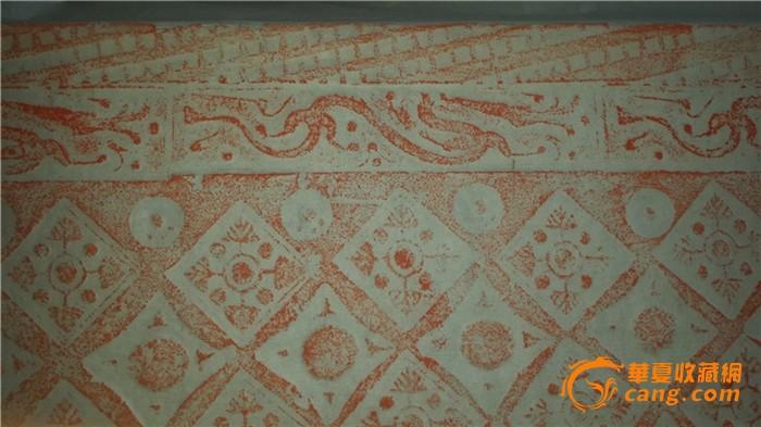 精美汉代龙纹画像砖