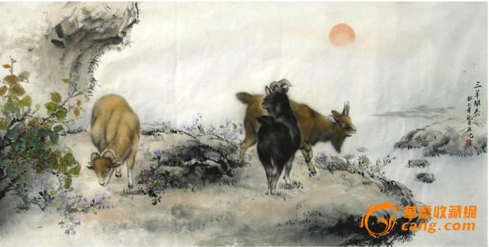 杜陈静·四尺工笔动物画