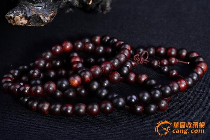印度小叶紫檀手链(念珠)