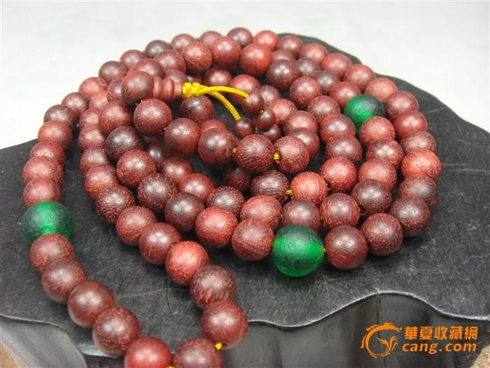 琉璃紫檀木珠串