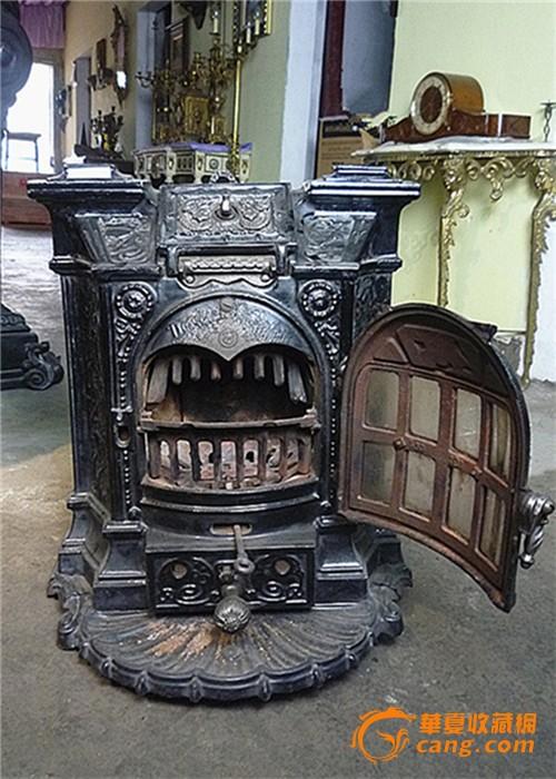 古老欧洲 有火炉的客厅 漫画