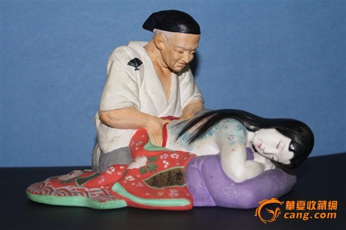 陶器春宫雕件-图1