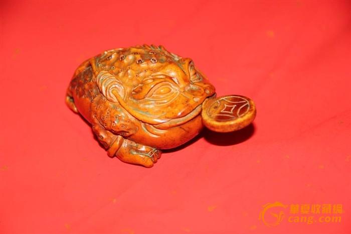 鹿角金蟾鼻烟壶-图2