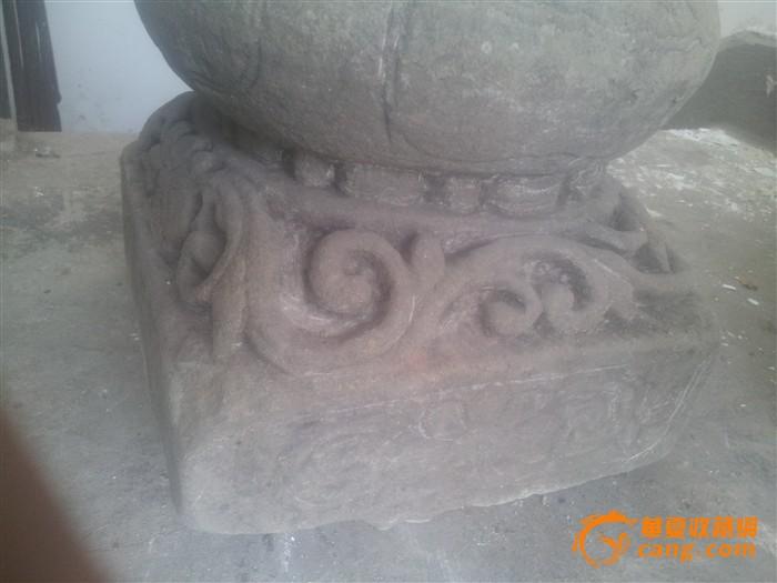 清代四面深浮雕花卉纹石香炉【6】