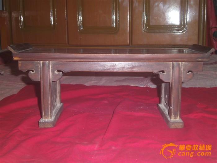 草花梨木老供桌