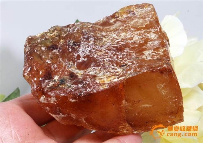 186克 精品 蜜蜡 原石 一块图3