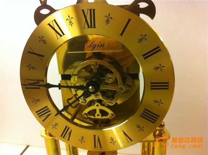 德国机械钟/全铜西洋老钟表