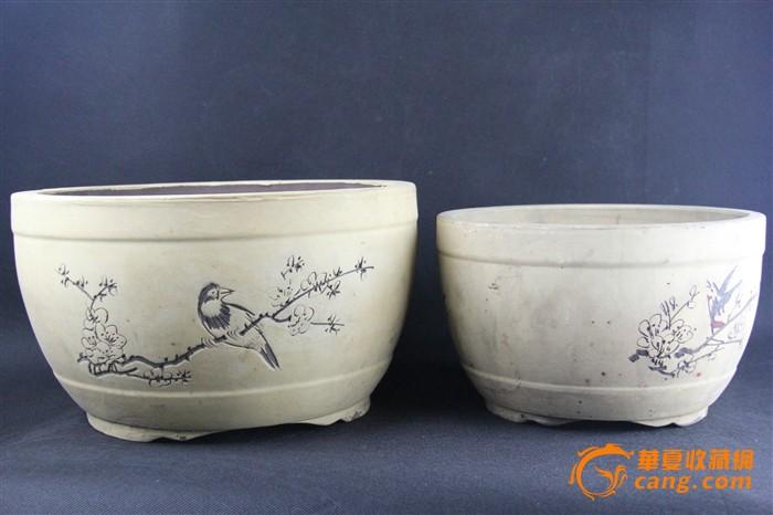 华夏古玩城 陶瓷 其它 > 文革花盆
