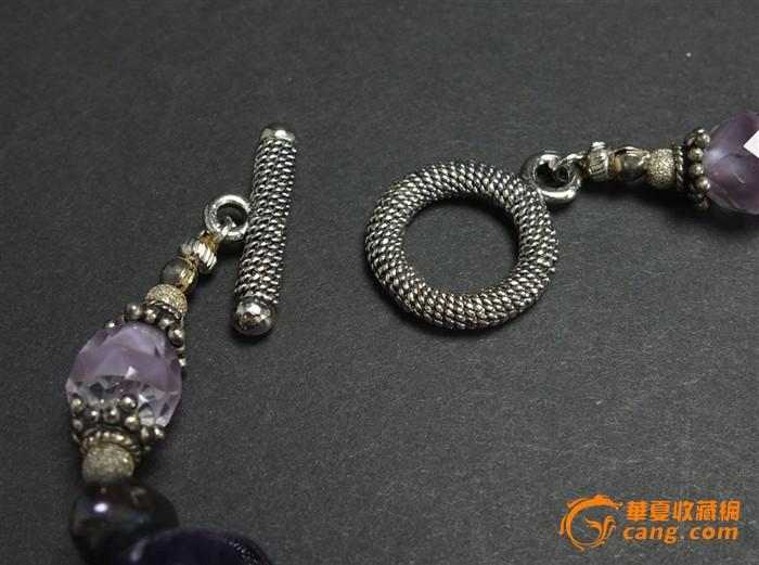 极品*天然紫水晶*项链*