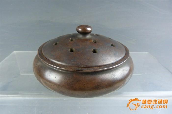 清代 铜熏炉-图1