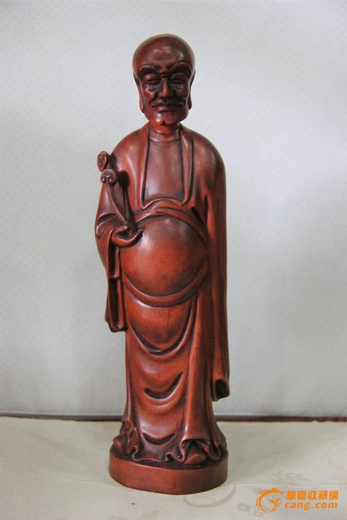 黄杨木.灵芝罗汉-图1