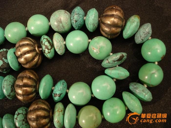 珊瑚虫-149克绿松石项链