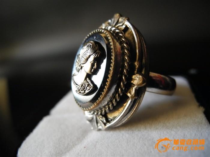 欧洲回流女王头像戒指