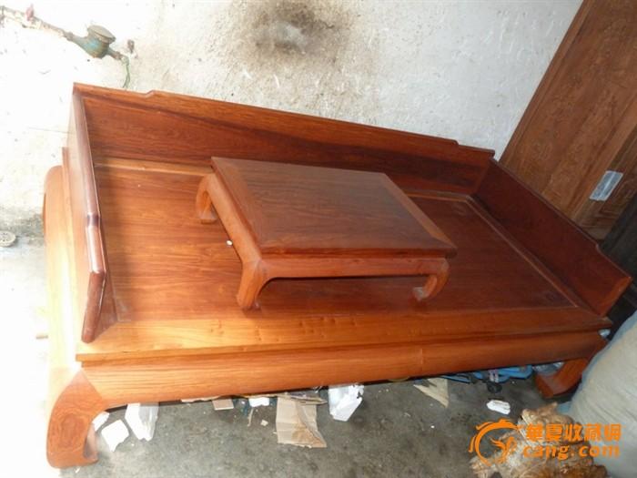 仿古家具越南黄花梨罗汉床