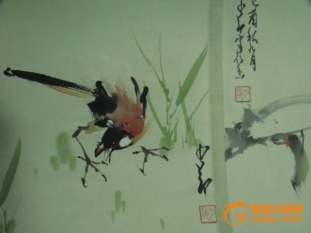 中国画长卷动物