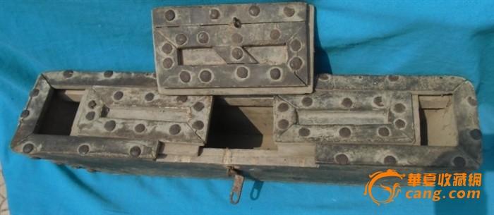 古代木钱柜木钱箱 罕见