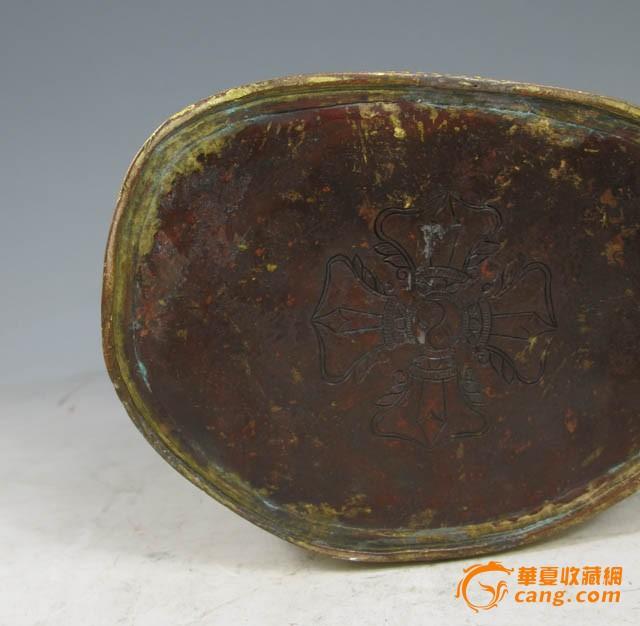 清代 铜鎏金金刚萨埵坐像图10
