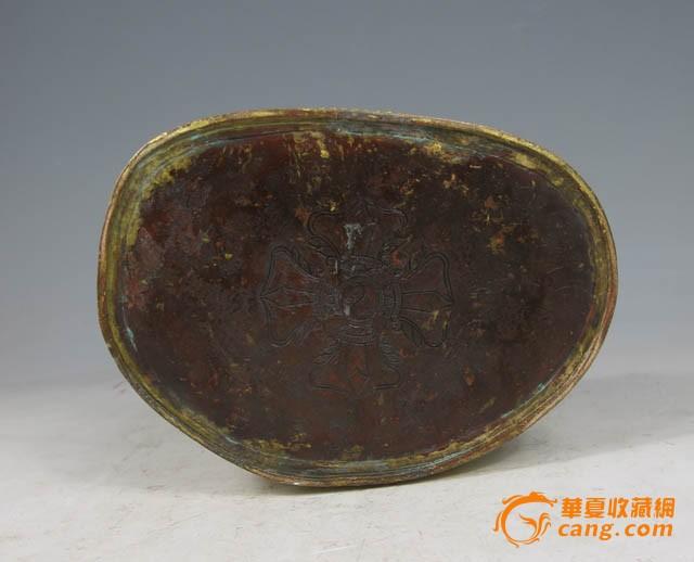 清代 铜鎏金金刚萨埵坐像图9