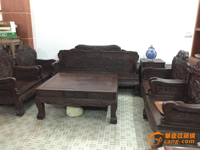 清代 红木家具十件套