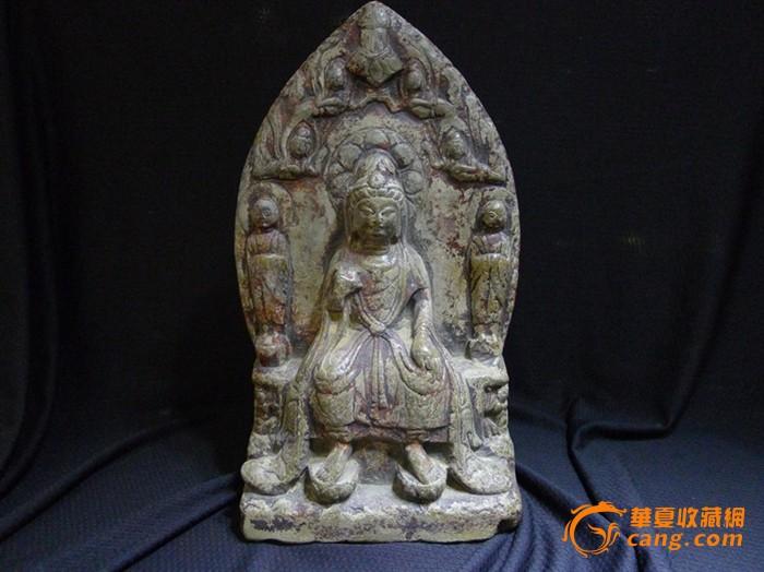 南北朝时期石雕佛造像图1