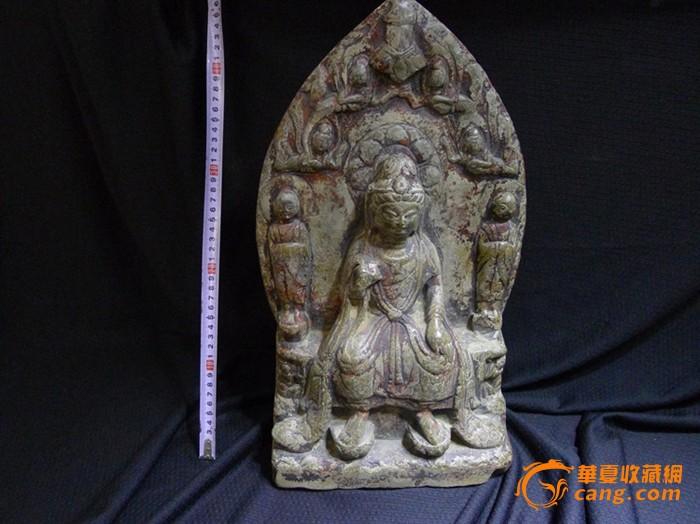 南北朝时期石雕佛造像图12