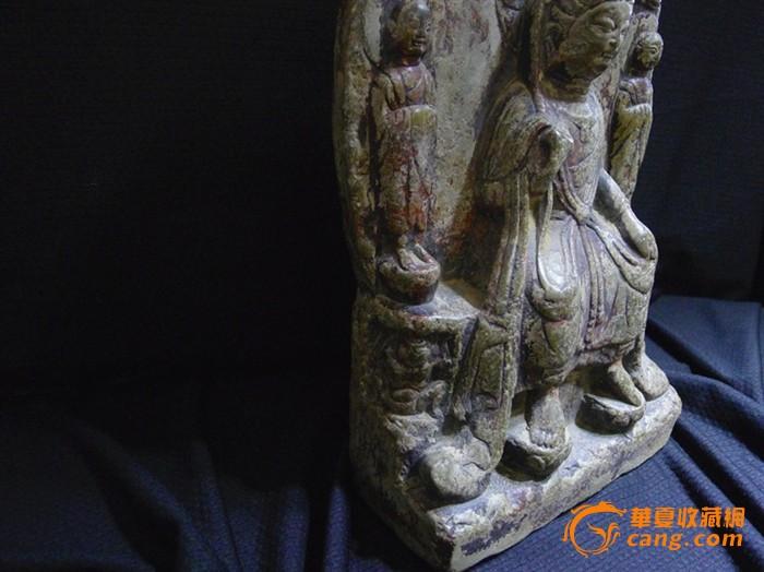 南北朝时期石雕佛造像图3