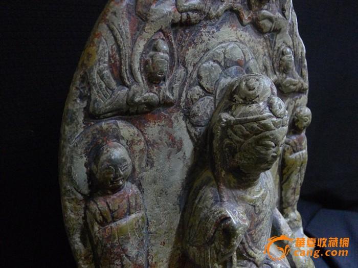南北朝时期石雕佛造像图4