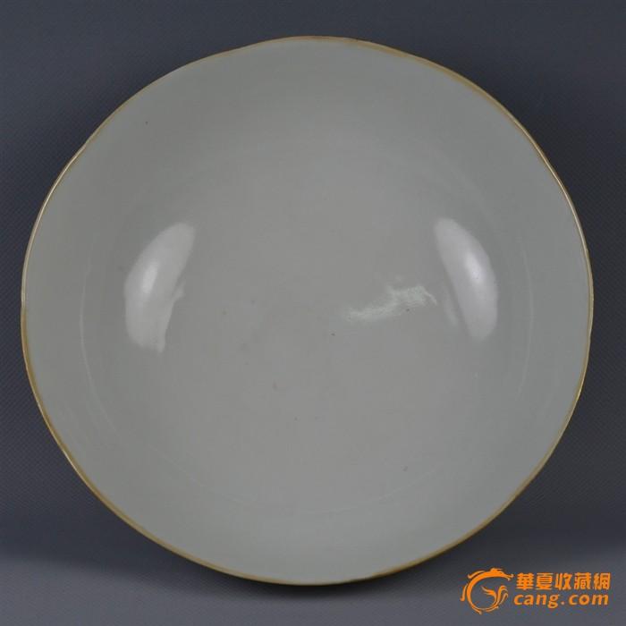清晚期粉彩杏林春燕碗,完美展现图4