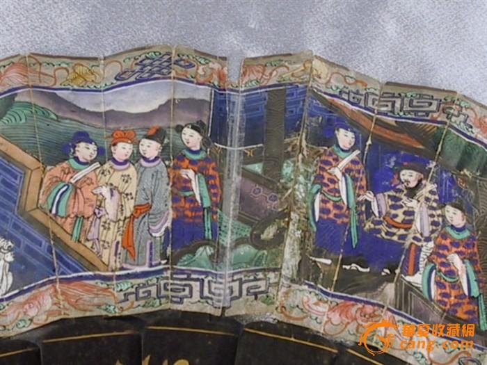 清末千面扇图8