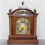 超大英国三套芝麻链八铃一簧大座钟(77厘米,约1880年)
