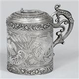 收藏珍稀品1825年获德国柏林皇家银器Meister奖名家作