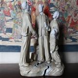 人物雕瓷 解放后