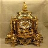 十九世纪法国极美大型飞龙*布勒镶嵌钟