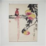 著名大写意画家  张朋 《长寿》