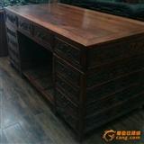 缅甸红酸枝,办公桌