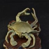 民国 铜蟹