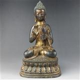 金漆铜佛像