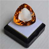 黄水晶 25.84克拉纯天然无加热巴西黄水晶 旺财石