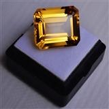【黄水晶】15.66克拉纯天然无加热巴西黄水晶 旺财石
