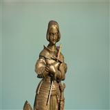 法国圣女贞德铜雕像Jeanne d'Arc